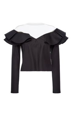 Catherine Of Valois Long Sleeve Top by JOHANNA ORTIZ for Preorder on Moda Operandi