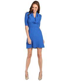 BCBGMAXAZRIA Averie Cabled Sweater Dress