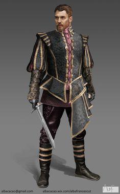 Renaissance/Fantasy Characters Designs, Alba Francescut on ArtStation at https://www.artstation.com/artwork/DlEzA