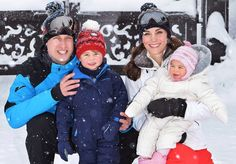 Kate Middleton and Prince William Release New Photos of Prince George and Princess Charlotte on a Royal Family Ski Trip — See the Adorable Pics!