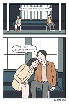 69 Ideas For Quotes Relationship Cute Life Cute Couple Comics, Couples Comics, Cute Couple Cartoon, Comics Love, Cute Couple Art, Cute Comics, Sundae Kids, Cute Quotes For Kids, 4 Panel Life
