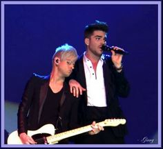 Adam and Tommy - GREAT pic