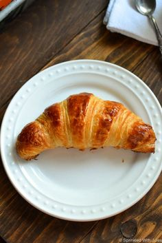 I have spent many hours perfecting this recipe. With the right ingredients,  proper technique, and lots of love, these delicious buttery flakey  croissants are just a few steps away. While homemade croissants seem like a  daunting difficult task, they really are not! They just take time, and  require patience. I've provided detailed instructions and TONS of photos to  show you that they are possible! And AMAZING.
