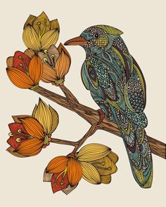 Henna-Like Animal Artistry  Valentina Ramos Renders Wildlife with Intricately Patterned Skin