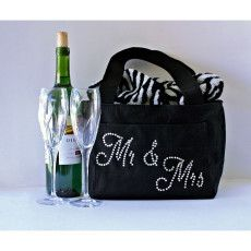 Mr and Mrs foodie gift insulated lunch travel bag, Anniversary gift for  husband, Personalized lunch box picnic gift for couple anniversary