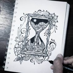 Intricate Doodles and Zentangle Drawings. Click the image to see more of Widya Rahayu's work. Zentangle Drawings, Doodle Art Drawing, Cool Art Drawings, Pencil Art Drawings, Zentangle Patterns, Zentangles, Zentangle Art Ideas, Art Patterns, Doodle Sketch