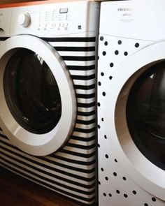 Washi Tape Ideas for Laundry Room   Easy and Creative Decor Ideas   Click for Tutorial