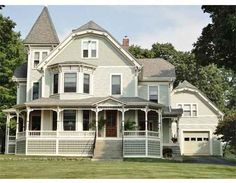 """1870 – 14 Packard St, Hudson, MA """"EXQUISITELY RESTORED! Rare to find a spacious antique that maintains originality yet with some..."""
