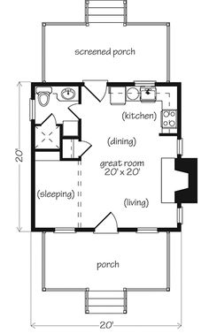 12x36 tiny house floor plan | we both wanted a big kitchen & the