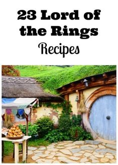 23 Delicious Lord of the Rings Recipes for the perfect Lord of The Rings Themed Party. #lotr #lordoftherings