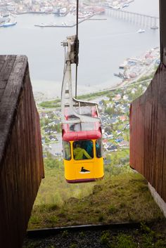 Cable Car in Tromso, Norway. Tromso, Places Around The World, Around The Worlds, Travel Ideas, Travel Inspiration, Norway Viking, Alesund, Norway Travel, Shore Excursions