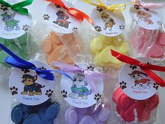 Hey, I found this really awesome Etsy listing at https://www.etsy.com/listing/262067334/10-paw-patrol-party-soap-favors-paws