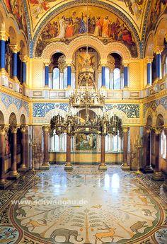 Neuschwanstein Inside rooms