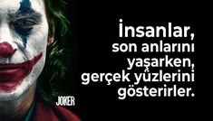 Joker Sözleri - Güzel Sözler Joker, Batman, Fictional Characters, The Joker, Fantasy Characters, Jokers, Comedians