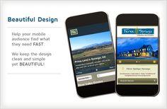 Mobile website designing.