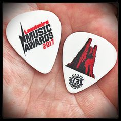 Sinister Guitar Picks Was The Official Guitar Pick For Loudwire's 1st Annual Music Award Show Oct 24th, 2017. So We Made These Custom Picks To Commemorate The Event.