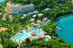 Grecotel Eva Palace in Corfu (Dassia) is close to Dassia Beach and Pyrgi Beach. This 5-star hotel is within the vicinity of Kapodistrias Museum and Aqualand. See best resorts & hotels in Corfu at http://www.lowestroomrates.com/hotels/Corfu.html  #luxurybeachresorts