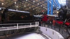 The National Railway Museum in York. A brilliant family day out and entry is free! Visit the link to read reviews of the National Railway Museum by parents.