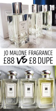 Love Jo Malone but hate the price? Stock up on this 8 dupe! Eyeshadow Dupes, Skincare Dupes, Lipstick Dupes, Makeup Dupes, Eye Makeup, Beauty Dupes, Beauty Hacks, Foundation Dupes, Jo Malone