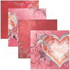 Folha para Scrapbook Cupido   Folha impressa com cores sólidas, ideais para servirem de base em trabalhos de Scrapbook ( Decoração de Álbuns) e artesanato em geral. Totalmente ACID e LIGNIN FREE.   Contém: 1 folha estampada  Medidas: 305 x 315 mm  Gramatura: 180 g/m²     Fabricante:  Toke e Crie