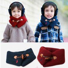Hot Sale Winter Warmer Toddler Kid Children Neck Wraps Loop Scarf Muffler Shawl | eBay