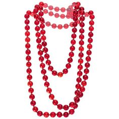 Preowned 1940s Chanel Beaded Necklace (45.705 CZK) ❤ liked on Polyvore featuring jewelry, necklaces, beaded necklaces, multiple, layered chain necklace, chanel jewellery, multiple strand necklace, chanel jewelry and beads jewellery