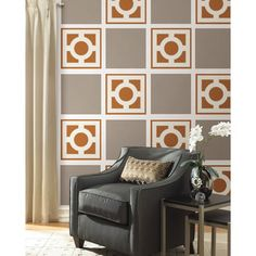 @Overstock - This vinyl wall decals set is clean and fresh, and features a sophisticated Zoe Pebble design that highlights quiet elegance. Safe for walls, these WallPops vinyl decals are repositionable and always removable.http://www.overstock.com/Home-Garden/WallPops-Zoe-Pebble-Blox-Decals-Bundle-Vinyl-Wall-Art/7480382/product.html?CID=214117 $61.99