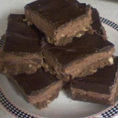 Very nice images. Nanaimo Bars II food-and-drink Best Brownie Recipe, Brownie Recipes, Cookie Recipes, Fudge, Just Desserts, Dessert Recipes, Homemade Desserts, Nanaimo Bars, Good Food