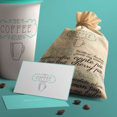 The Coffee Story on Behance