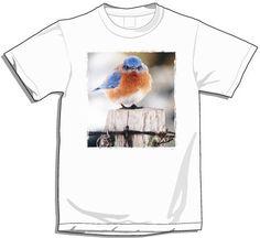 Mad Bluebird T-Shirt Large & Small