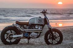HELP, HELP ME HONDA. JSK Moto's Surfin' 250 Honda Rebel Scrambler - Pipeburn.com