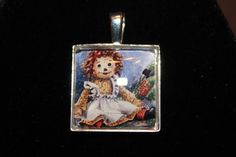 Large Raggedy Ann So adorable 25MM Pendant by Ingelinestreasures