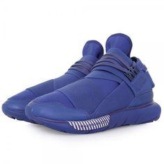 Adidas Y-3 Qasa High Blue 01 Latest Adidas Trainers 08a6447f4b26