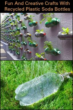 Instead of throwing out those plastic soda bottles, here are some creative ideas on how you can repurpose them into fun and creative crafts.