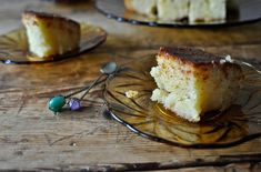 'Revani'/Semolina cake - Ρεβανί Semolina Cake, Greek Desserts