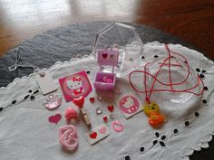 25 Hello Kitty diamond collection kit: by thedestinyofthings