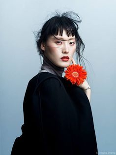 Outtake from Harper's Bazaar VN cover shoot. Love how striking Hye Seung Lee is here   Photography: Jingna Zhang Stylist: Phuong My Model: Hye Seung Lee @ NOMAD Mgmt in Salvatore Ferragamo Hair: Yoichi Tomizawa @ Art Department  Makeup: Tatyana Harkoff  Flowers: Eriko Nagata  Photo Assistants: Tobias Kwan Ngoc Vu  My Tokyo workshop! - http://zemt.io/painterlyportraits   Follow me   http://instagram.com/zemotion  http://twitter.com/zemotion  http://youtube.com/zemotion