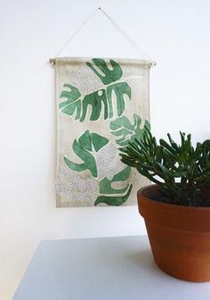 Our mini wall hangings feature original botanical designs printed on thick, quality canvas fabric and suspended from natural Tasmanian oak with cotton twine - ready to be hung as a perfect addition to your home or office space. Fabric Wall Decor, Wall Decor Design, Cotton Canvas, Canvas Fabric, Mini Canvas, Love Home, Affordable Art, Wall Hangings, Twine
