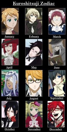 Oh my gods..... I'm GRELL (0.0) That... minus fangirling and stalkering.... is surprisingly accurate