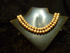 """""""Not your grandmother's pearls""""- Necklace designed by local artist Nora Fischer"""