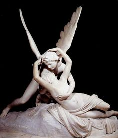 Cupid and Psyche - Antonio Canova.