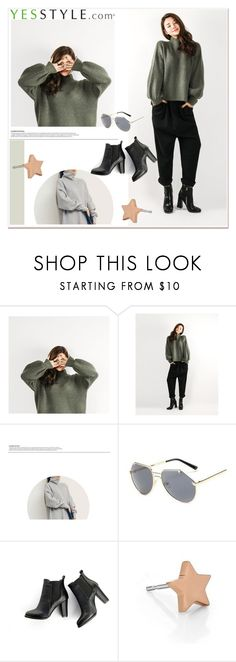 """""""Show us your YesStyle"""" by paculi ❤ liked on Polyvore featuring KOON, SWEET MANGO, Kenny & Co., women's clothing, women's fashion, women, female, woman, misses and juniors"""