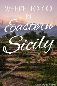 While Sicily is full of beauty everywhere you look, you'll find many of its best treasures in the eastern part of the island. The east is home to active volcanoes, ancient ruins, Baroque cities, and gorgeous beaches, not to mention fabulous food and world-famous wine.