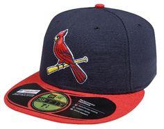 New Era 59FIFTY St. Louis Cardinals Team Alternate 2 Baseball Hat Navy Red  http b9c7c1072