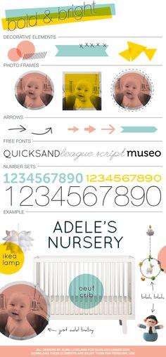FREE vector style board elements. @nicolesclasses