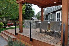 Glass railing | DeckView