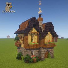 Minecraft Medieval Village, Minecraft Farm, Minecraft Castle, Minecraft Plans, Minecraft Funny, Minecraft Survival, Minecraft Construction, Amazing Minecraft, Minecraft Blueprints