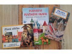 Pražský hrad s dětmi. Tohle je základ, se kterým se na Pražském hradě neztratíte. Projděte celý areál Pražského hradu spolu s dětmi vlastním tempem, bez průvodce a zároveň se dozvíte něco málo o jeho historii.Sada obsahuje knihu Tajemství Pražského hradu+ panoramatická mapa Pražského hradu +Zlatá uličkaTy… Ali Express, Cover, Books, Libros, Book, Book Illustrations, Libri