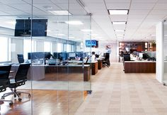 Office design by M Moser Associates by M Moser Associates   Interior Design Architecture, via Flickr