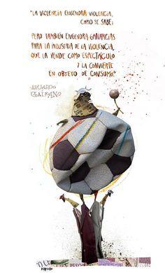 Eduardo Galeano - Por Pablo Bernasconi